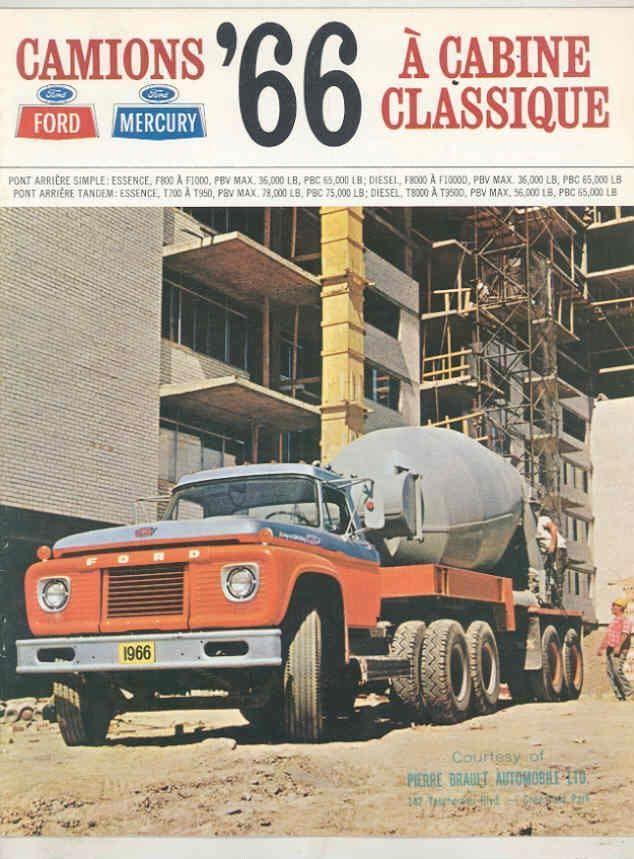 1966 Ford F Heavy Duty Mixer Truck Trucks Ford Tractors Old Ford Trucks