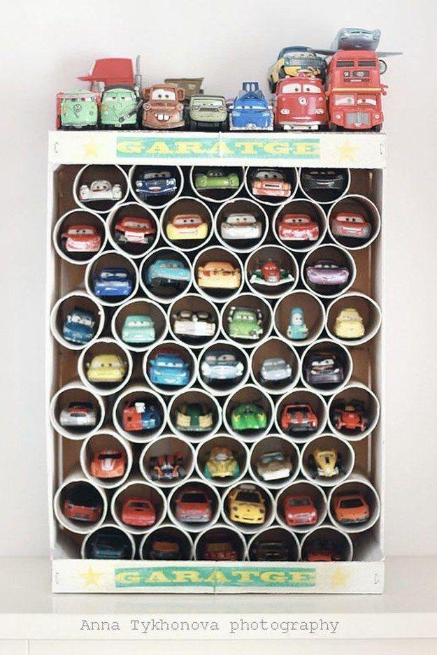6 raffinierte DIY-Ideen für Ordnung im Kinderzimmer