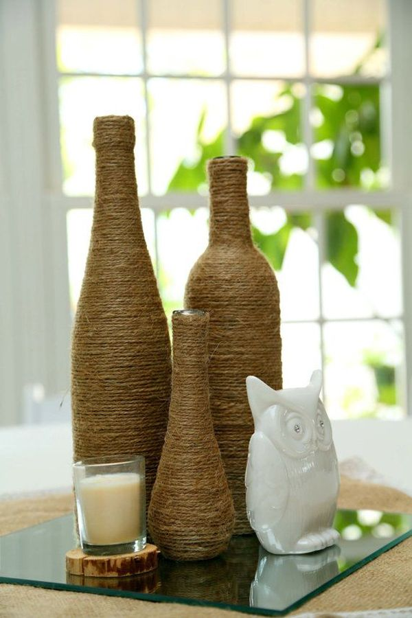 Decor Bottles Pleasing 20 Creative Diy Wine Bottle Ideas  Home Design And Interior Inspiration
