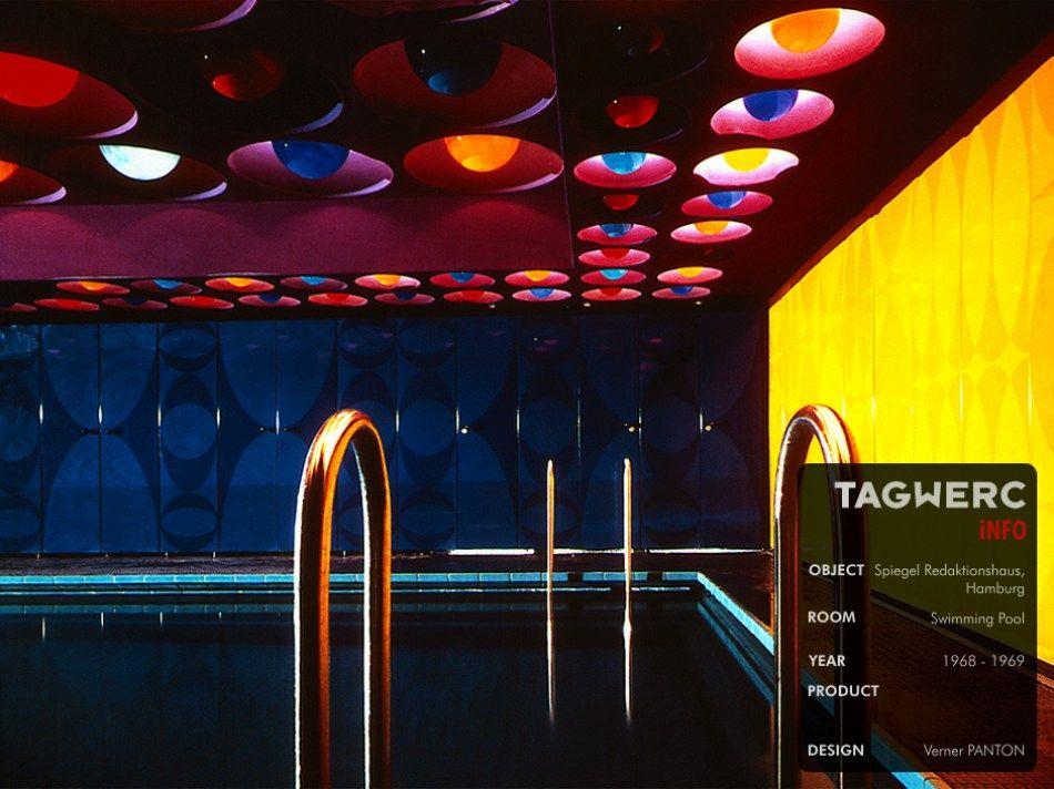 Swimming pool by Verner Panton for Spiegel staff house | Verner ...