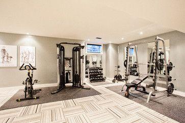 Contemporary home gym design valo i