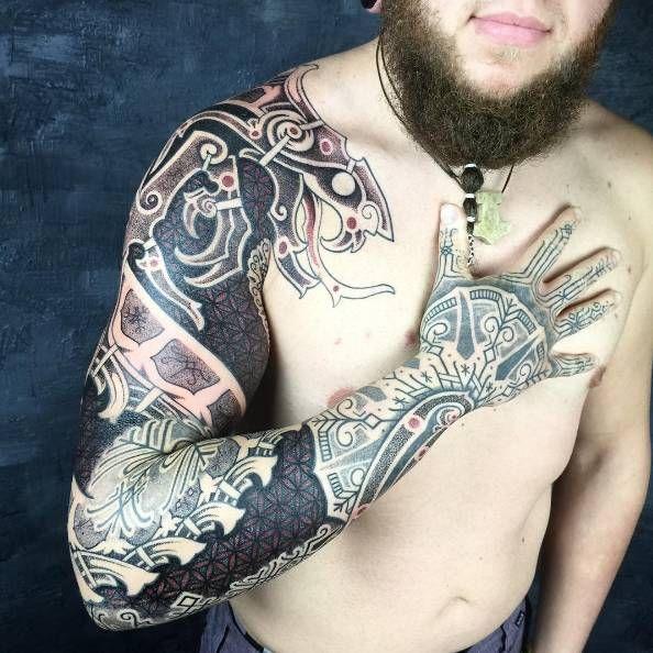 Pin De Tatuajes Para Hombres En Tatuajes Nórdicos Para Hombres