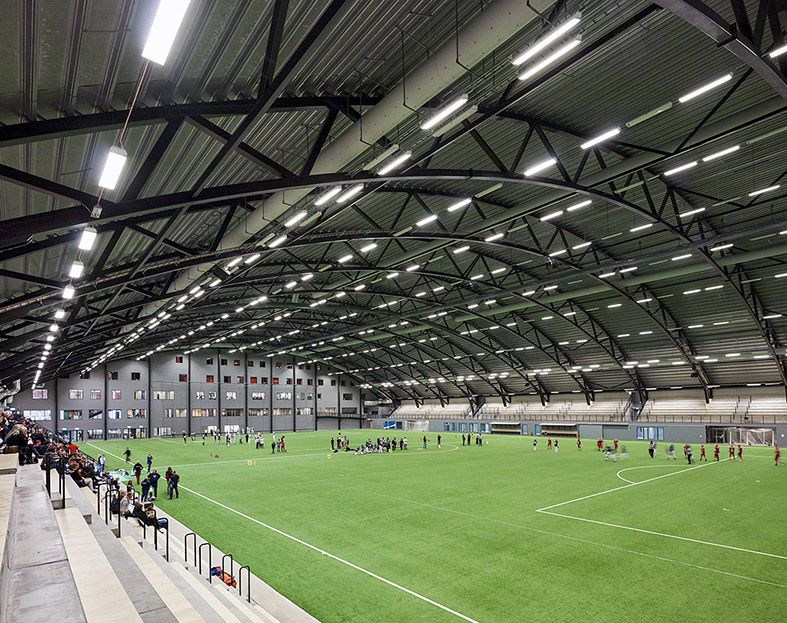 Prioritet Serneke Arena Indoor Soccer Field Soccer Field Indoor Gym