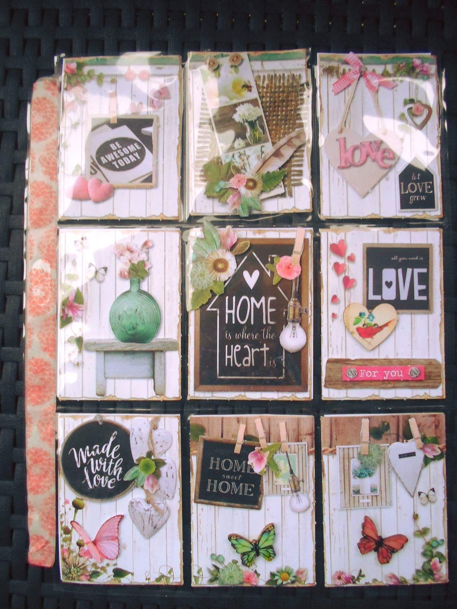 Home Sweet Home Pocket Letter