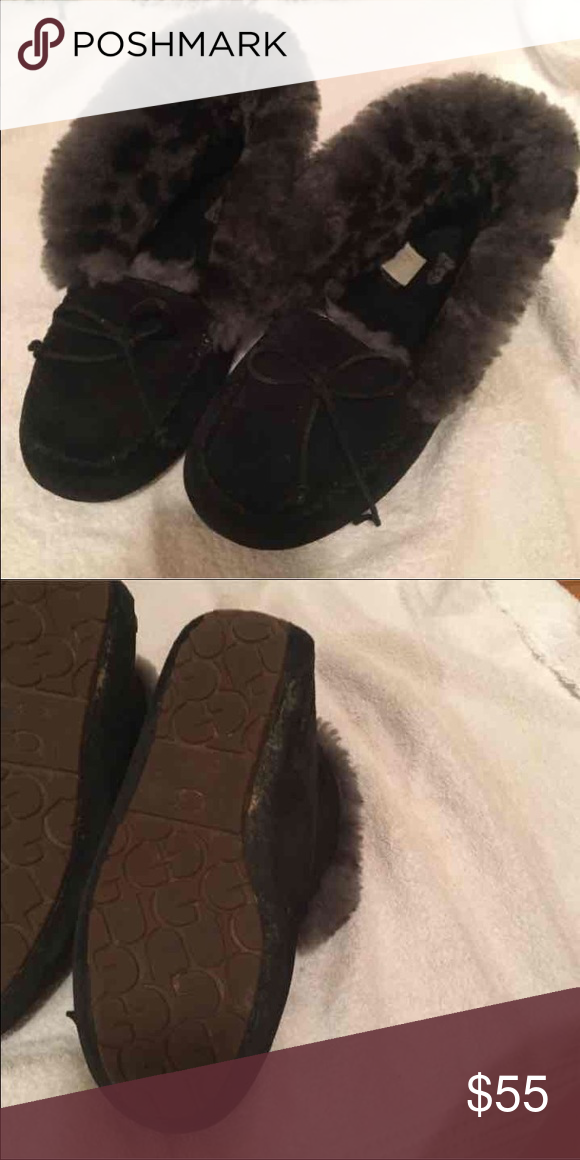 8c073f605fd UGGS Alena moccasins/slippers/booties Size 9 but runs small fits a ...