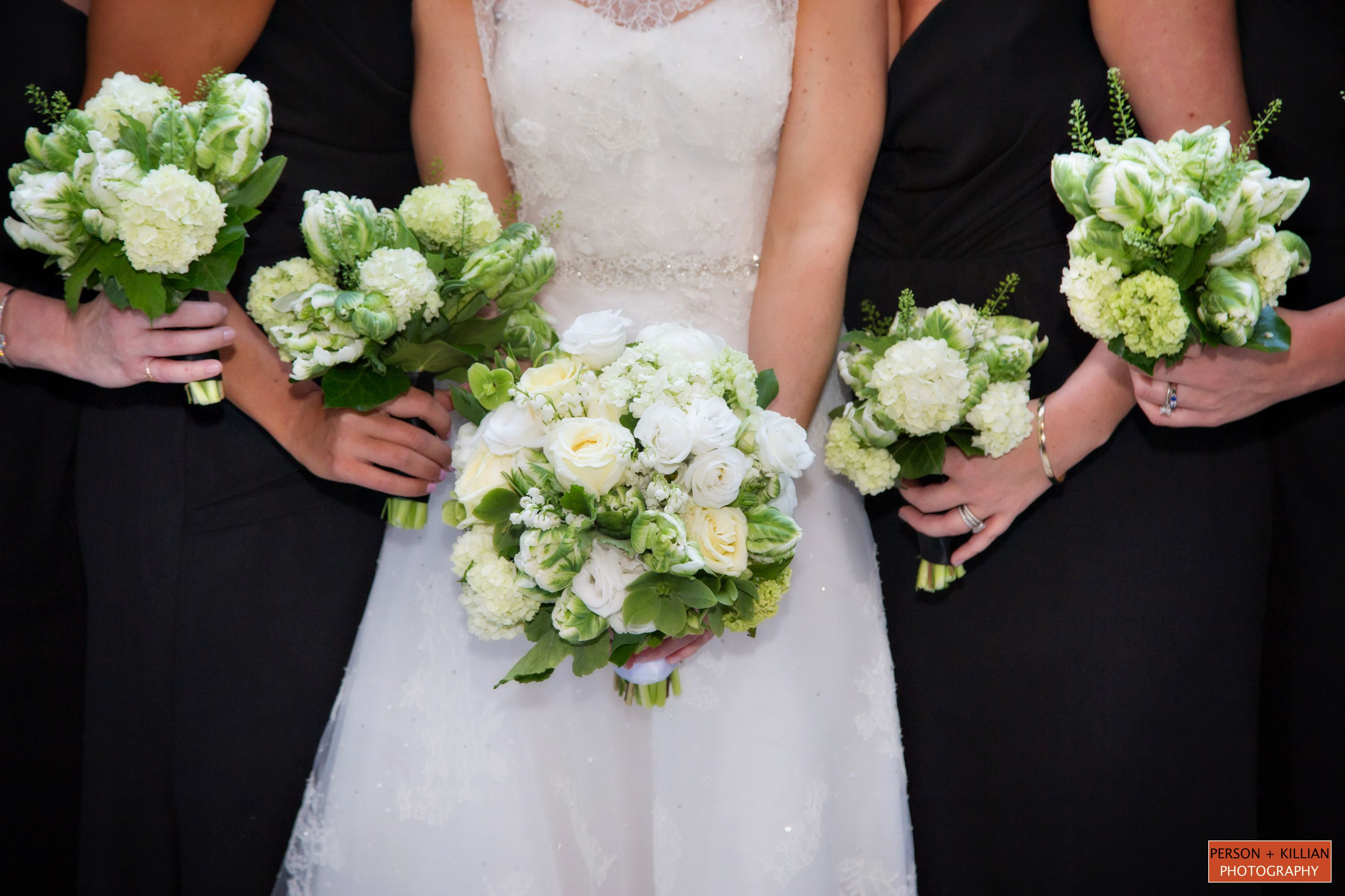 Beau Flowers By Table U0026 Tulip, Green And White Wedding Flowers, Bridesmaid  Bouquet Inspiration, Bridal Bouquet Inspiration, Fresh Flowers