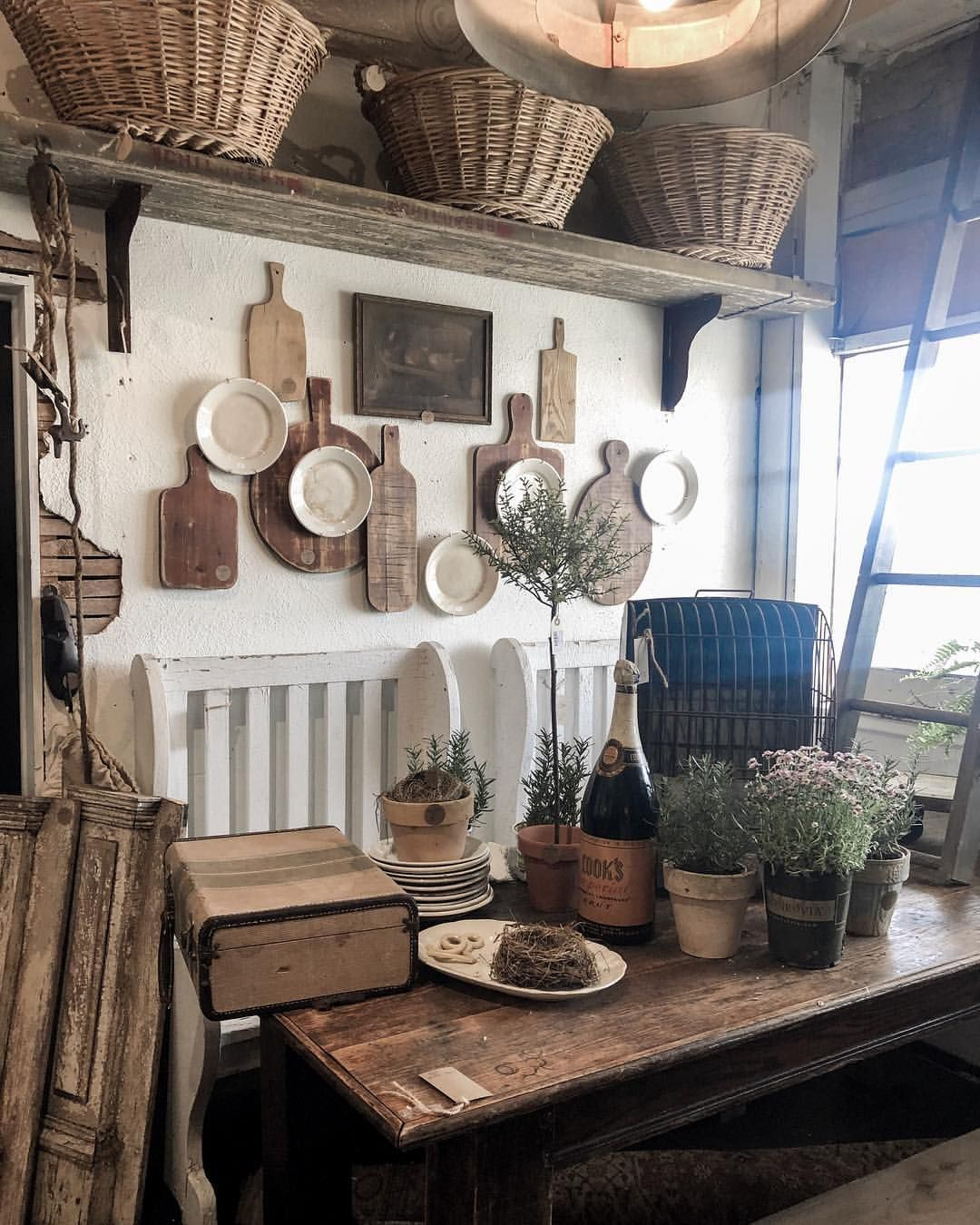 Is Farmhouse Decor Out: Spending The Morning Out And About With My Husband. We