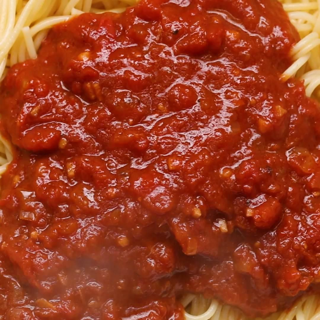 The Ultimate Tomato Sauce Recipe By Tasty Recipe Tomato Sauce Recipe Sauce Recipes Tomato Sauce