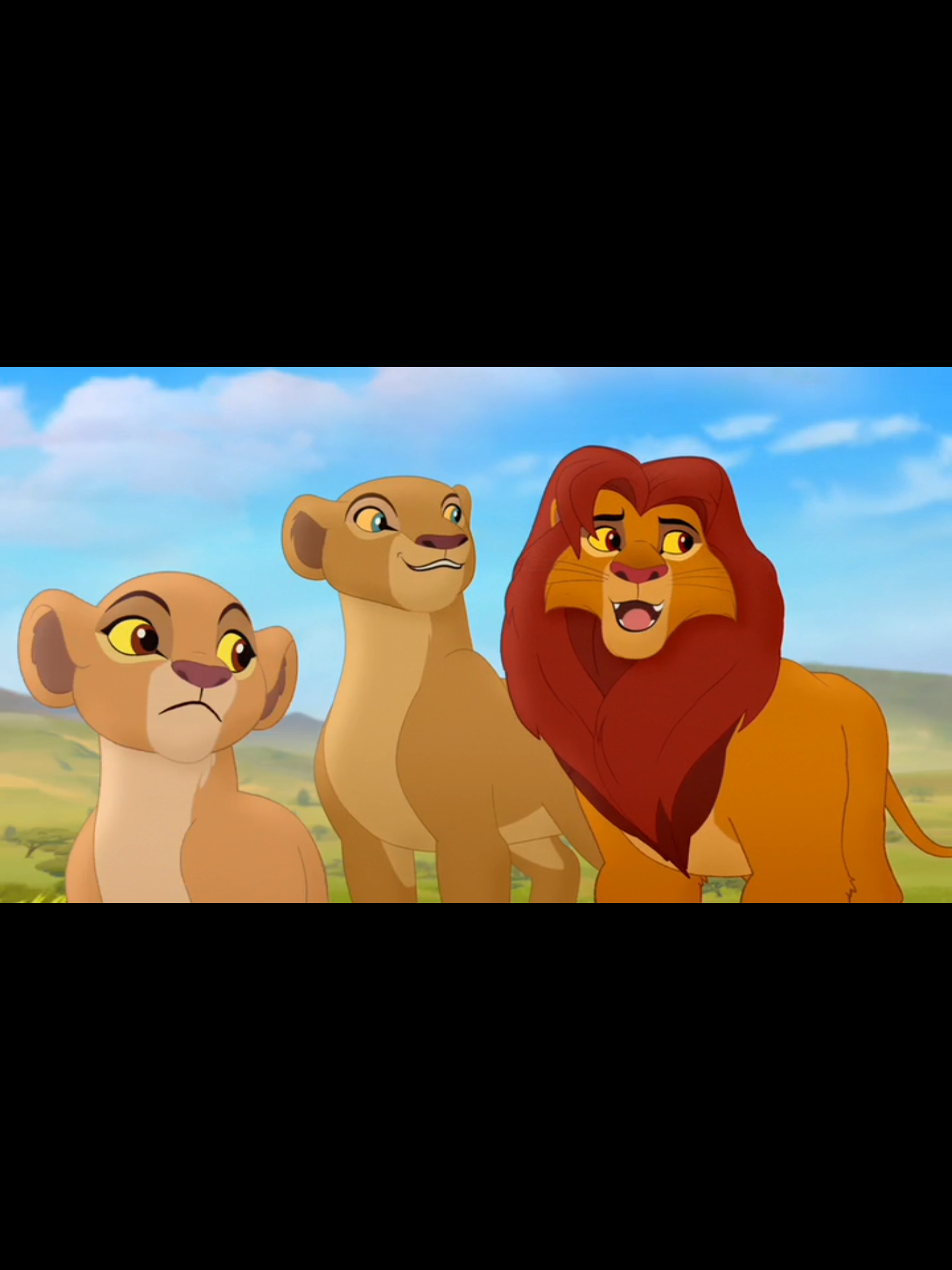 King Simba And Queen Nala With Their Daughter Princess Kiara From The Lion Guard Lion King Art Disney Lion King The Lion King 1994
