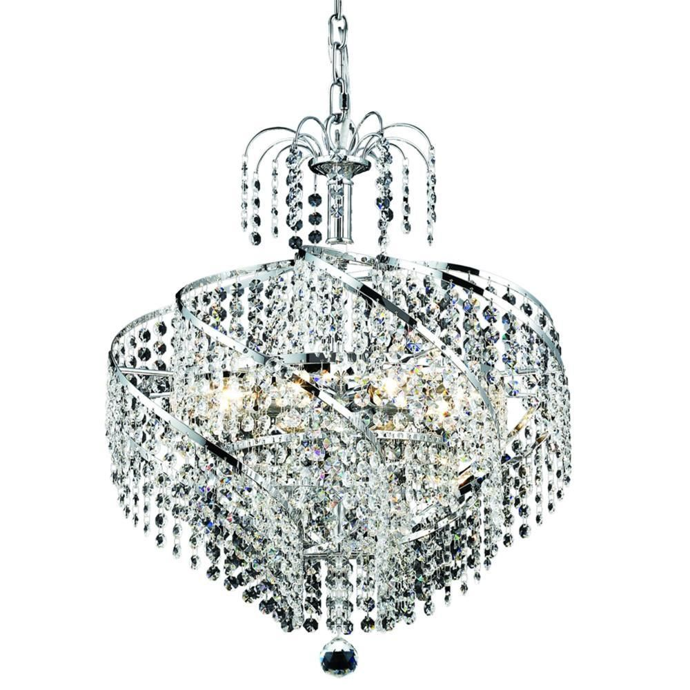 Spiral 26 crystal chandelier with 15 lights gold finish and spiral 26 crystal chandelier with 15 lights gold finish and spectra swarovski crystal arubaitofo Gallery