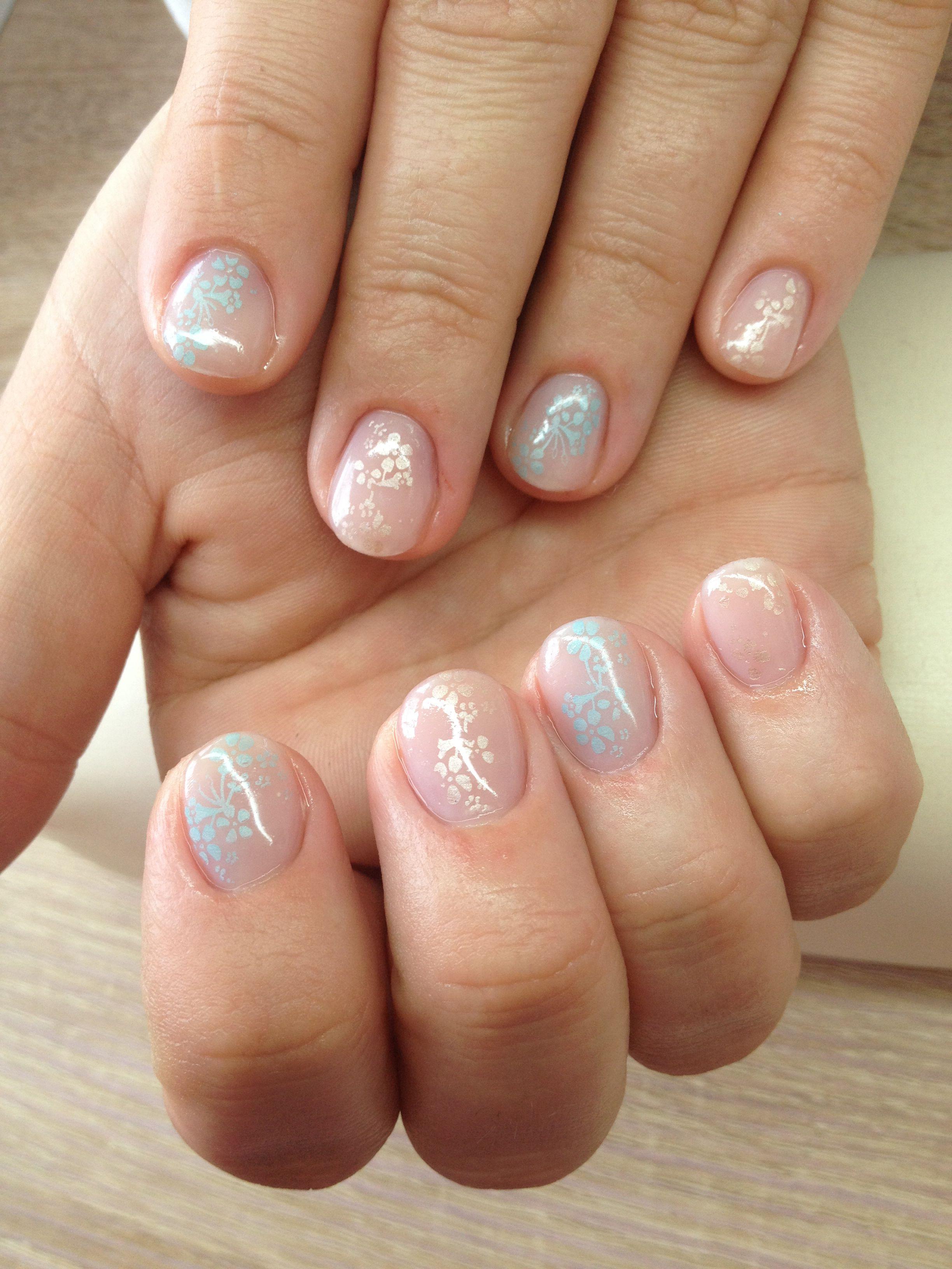 All Natural Nail Design Those Nails Pinterest Natural Nails