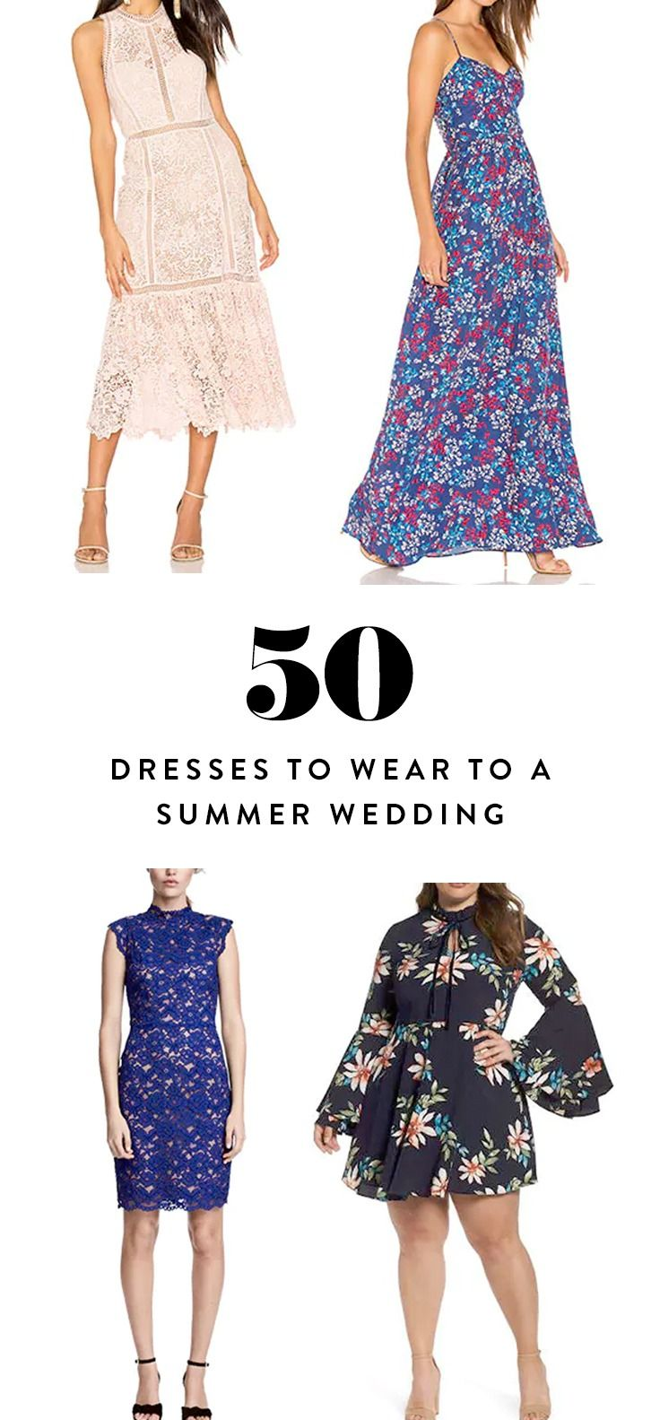 Dresses to wear to a wedding as a guest over 50   Dresses to Wear to a Summer Wedding  Wedding guest dresses