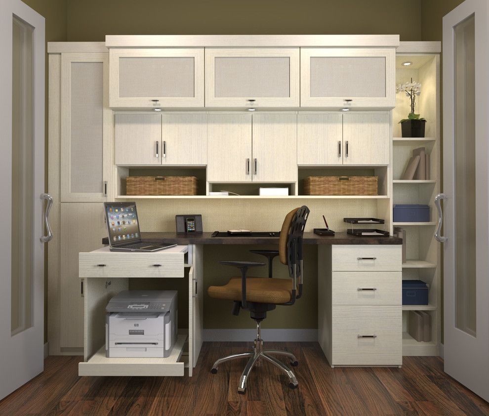 Cool Home Office Cabinets   Designing An Office Space At Home Office Design  Plans Home Office