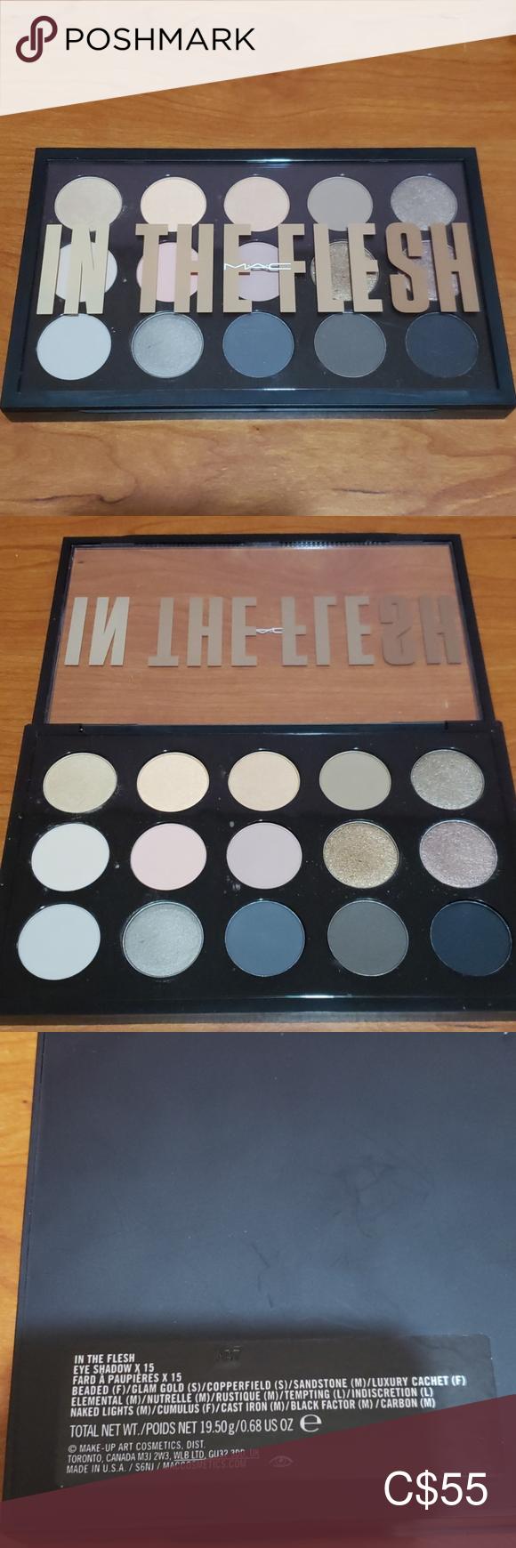 Mac In The Flesh Eyeshadow Palette Lightly used