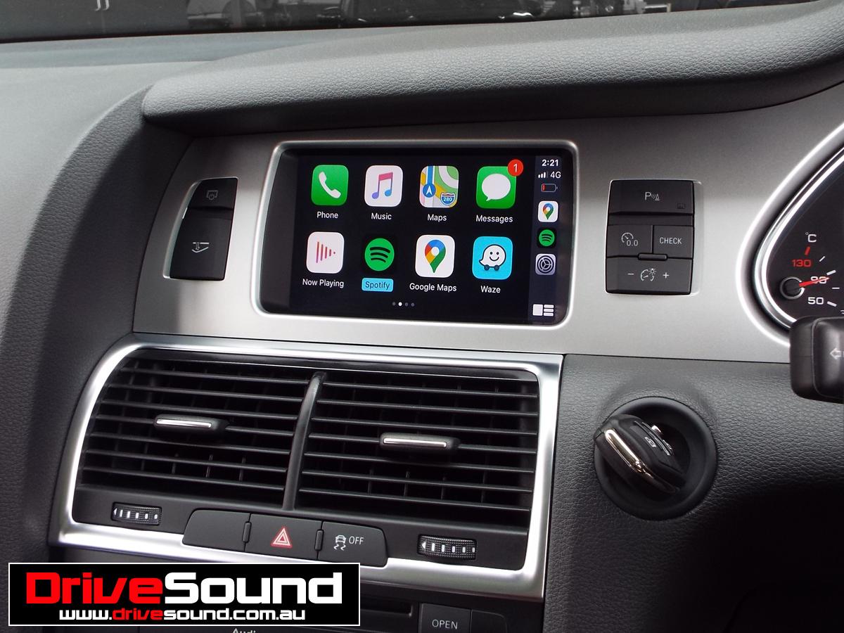 Audi Q7 Carplay Apple Car Play Carplay Audi Q7