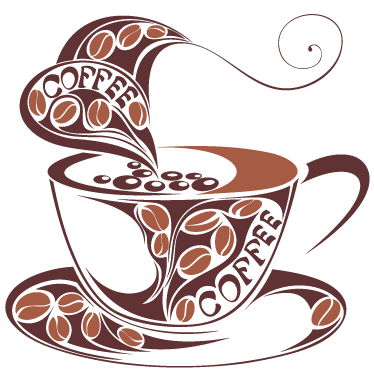 Vinilo Decorativo Taza Cafe Tonos Marron 1647 Png 374 370 Coffee Drawing Coffee Cup Art Coffee Lover