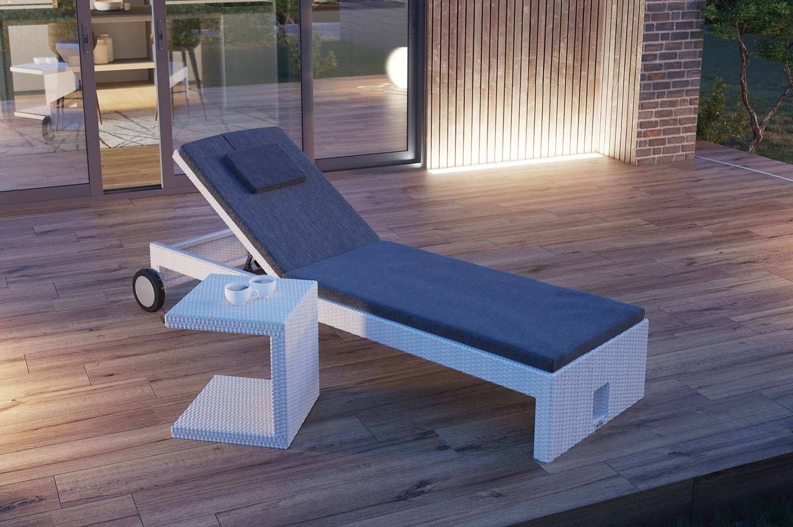 Lezak Ogrodowy Julia Sklep Internetowy Garden Space Furniture Home Decor Outdoor Decor