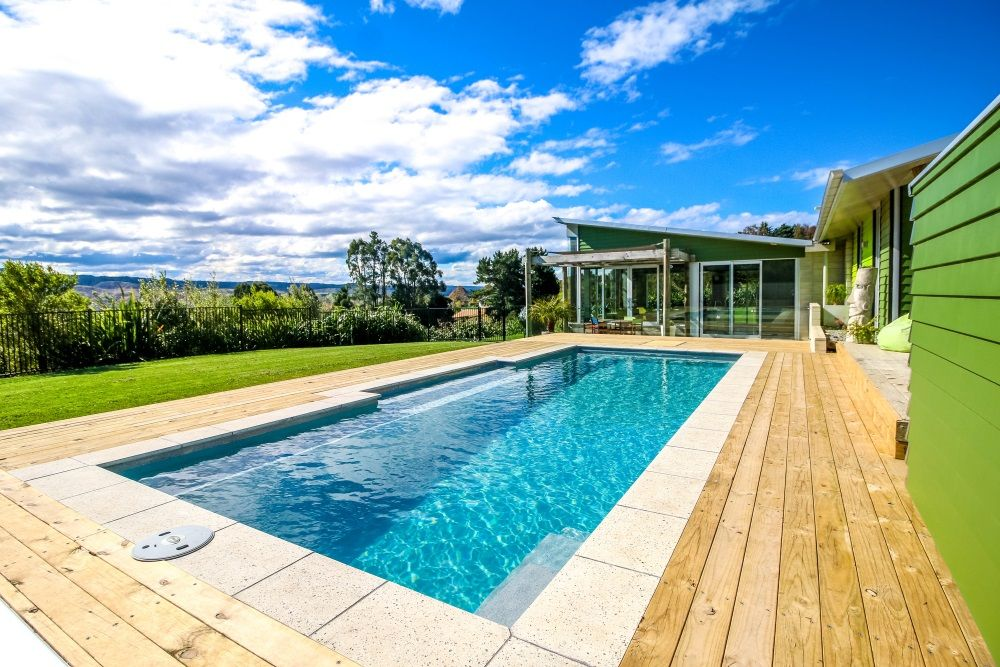 Symphony 9 Grey Quartz Fibreglass Swimming Pool Narellan Pools Nz Fiberglass Swimming Pools Pool Swimming Pools