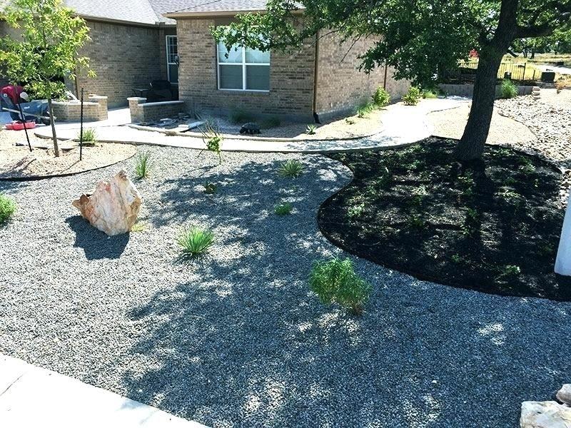 Black Star Gravel Landscape Sun City Home Depot Gravel