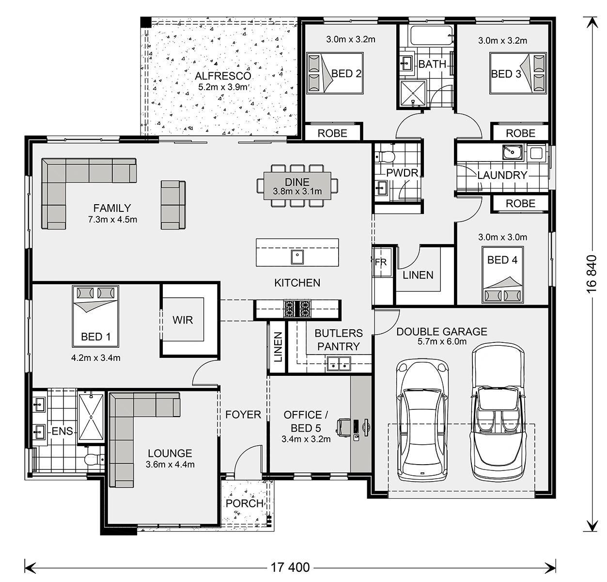 Wide Bay 232 Home Designs In G J Gardner Homes Custom Home Designs House Design House Floor Plans