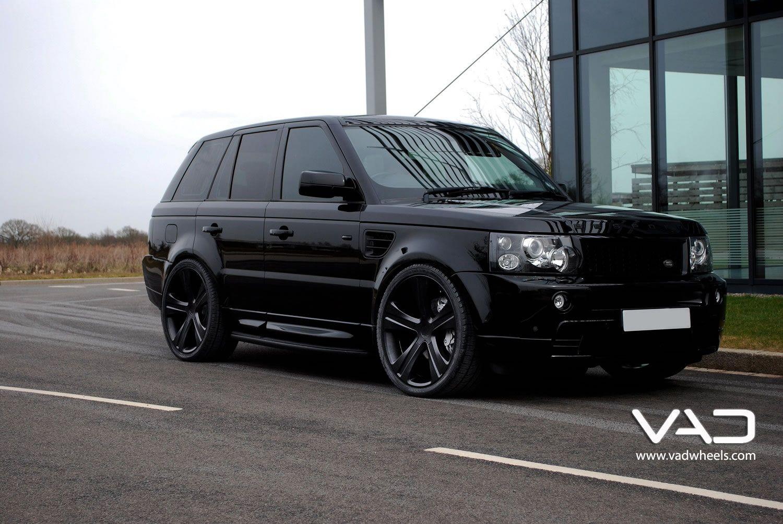 Black Range Rover with black rims...dream car!!! Range