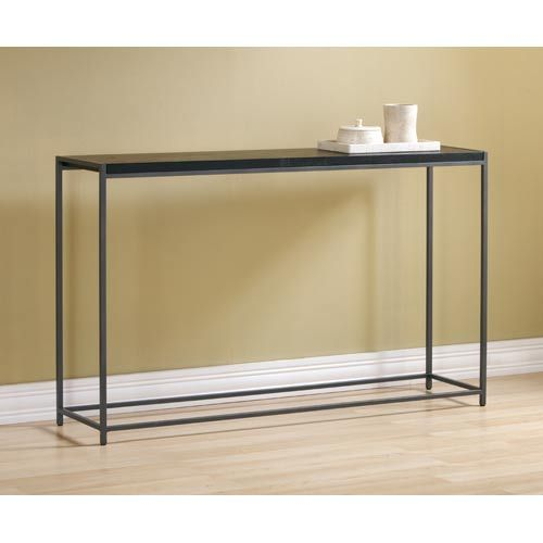 10 Inch Deep Console Table Steel Console Table Contemporary Console Table Console Table