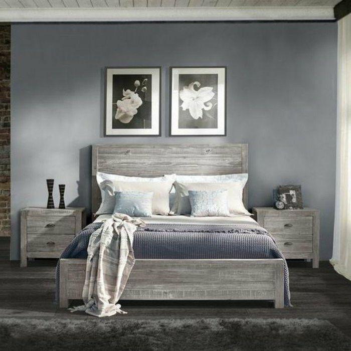 ▷ 1001+ ideas de decoración de dormitorios modernos | Madera pared ...