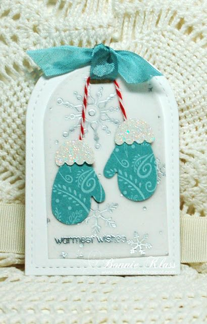 Stamping with Klass: Christmas Tags                                                                                                                                                                                 More