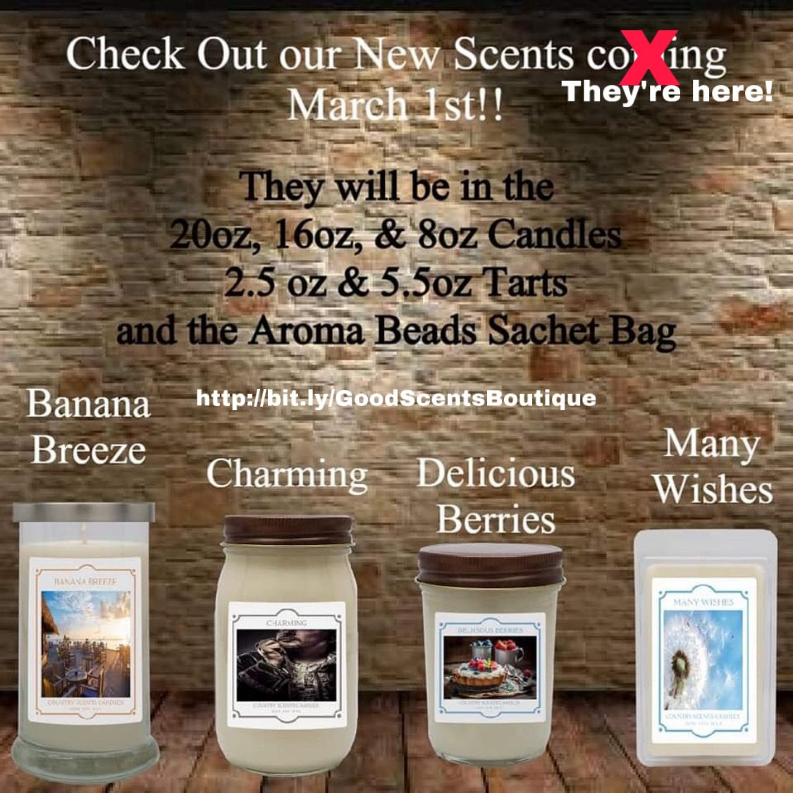 #aromatherapy #candles #waxtarts #countrycubbies #countrykinz #newscents #giftideas