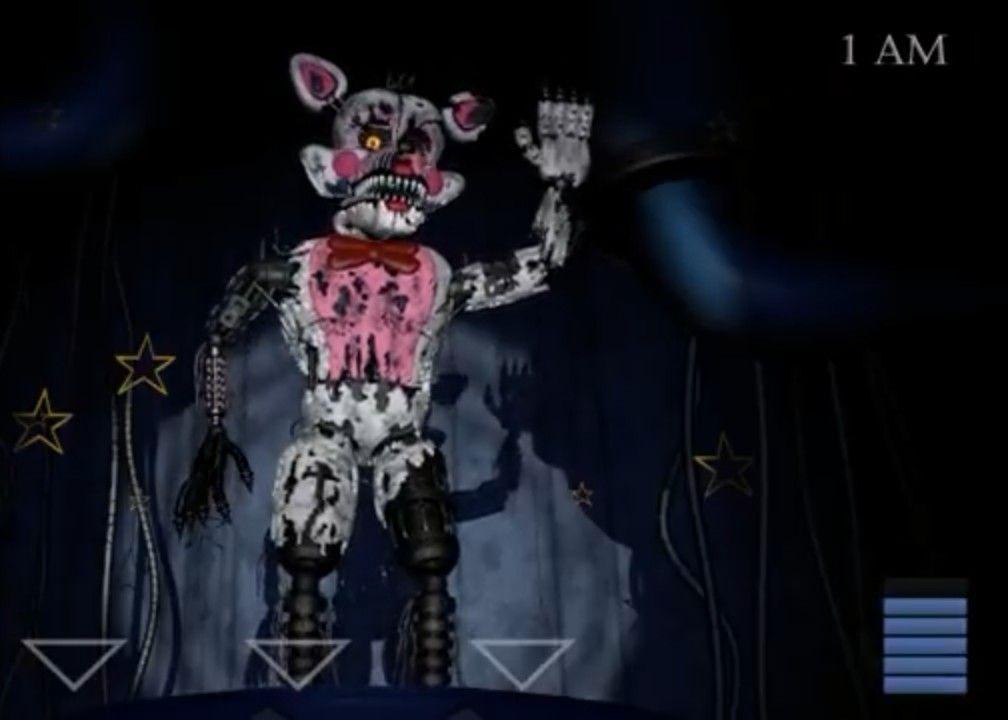 Baby S Nightmare Circus Nightmare Funtime Foxy Fnaf Drawings Nightmare Fnaf