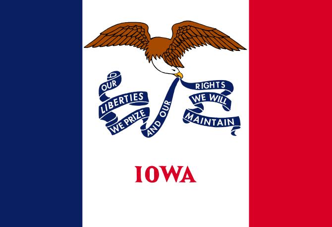 File Flag Of Iowa Svg Iowa State State Flags Iowa