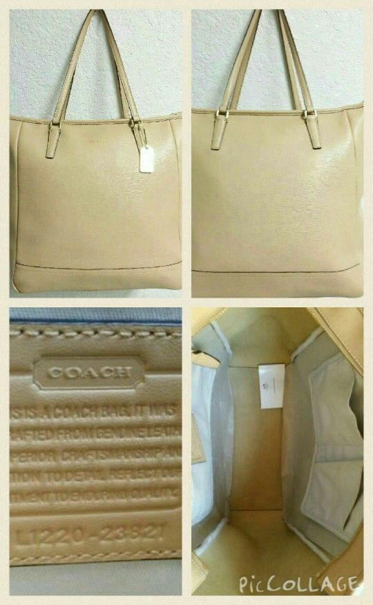 d650662df9 ... best price coach city camel saffiano north south large tote size h14 l  07dee 9b053