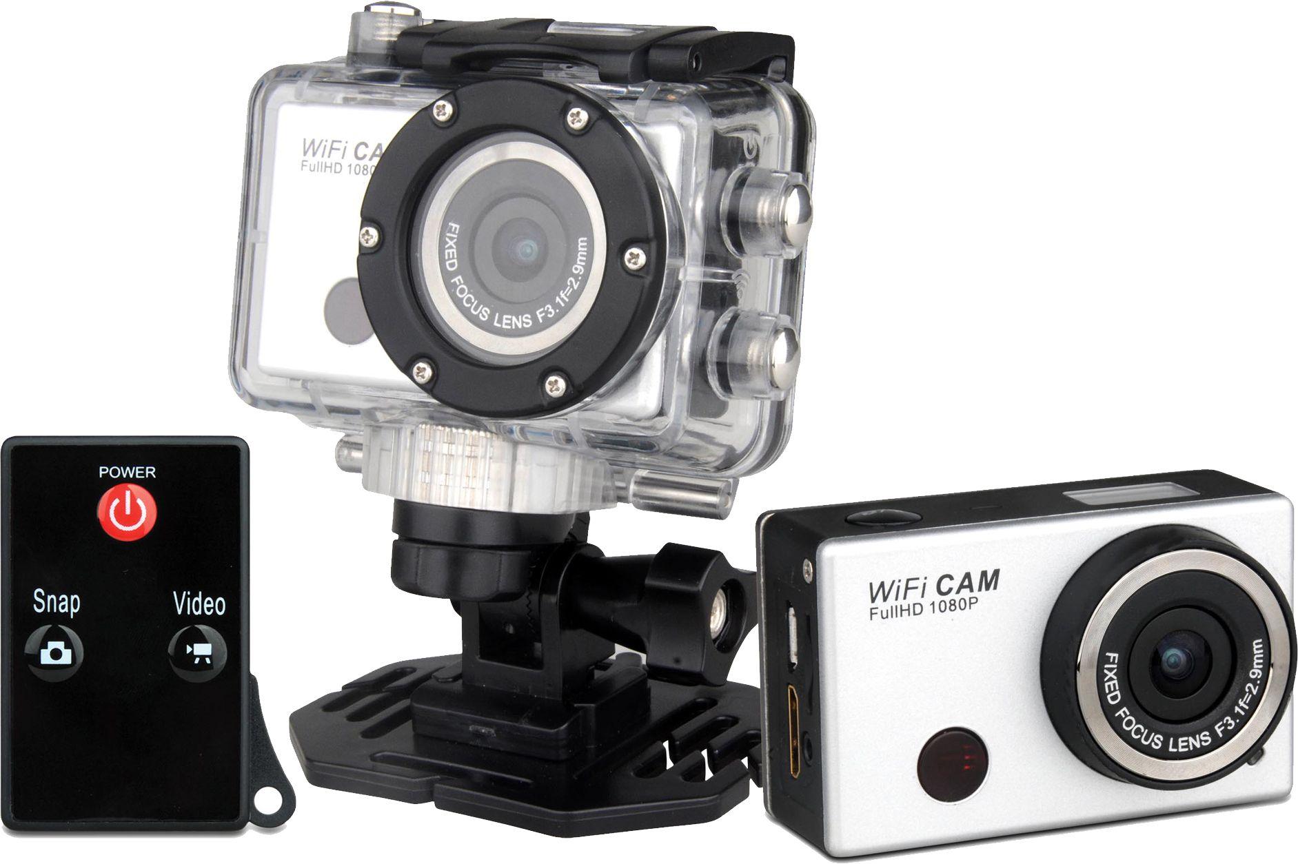Cámara De Acción Full Hd De 1080p Con Carcasa Resistente Al Agua Y Wifi Dv Ac 5000w Camara Hd Impermeable Deportes