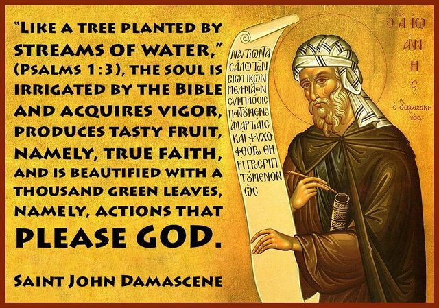 St. John Damascene! | Catholic saints, Mary catholic, True faith