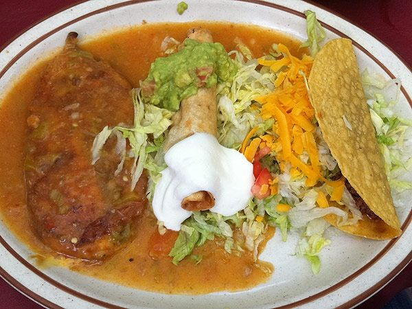 Food · New Mexican combo plate! & New Mexican combo plate! | Food! | Pinterest | Mexicans and Food