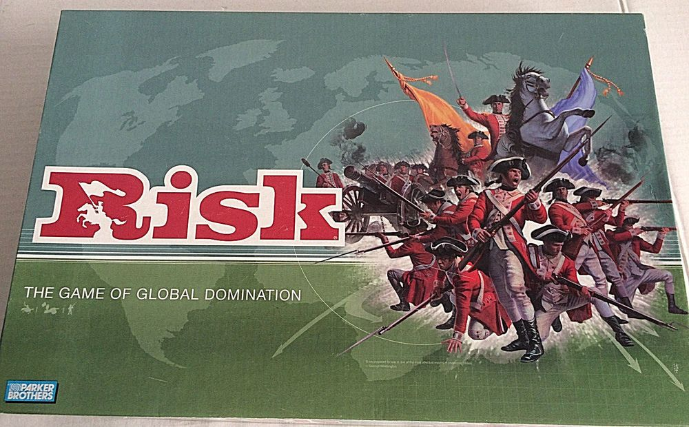 Risk Board Game Complete Original Classic War Strategy