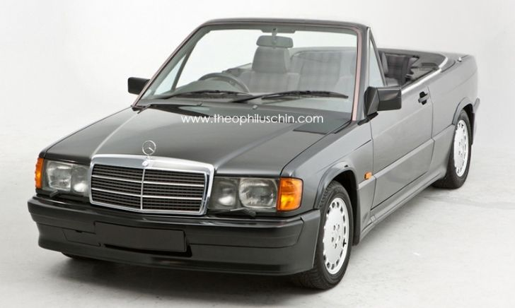 The Mercedes Benz 190 E W201 Cabrio That Never Existed With