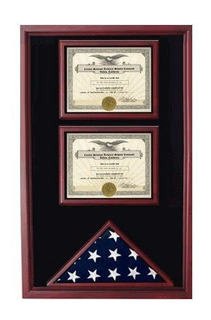 2 Documents Flag Display Cases | Flag Display Cases, Burial Flag ...