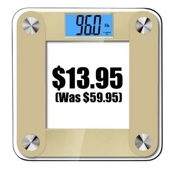 Balancefrom High Accuracy Plus Digital Bathroom Scale $13.95 (Was $59.95) - http://www.swaggrabber.com/?p=292364