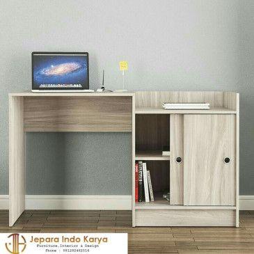 gambar meja belajar hpl   desain furnitur, interior