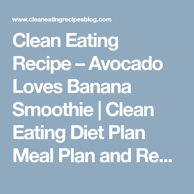 Avocado Recipes Smoothie Bananas