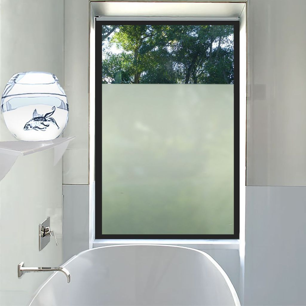Simply Private Frosted Decorative Window Film In 2020 Window In Shower Window Film Privacy Frosted Window Film