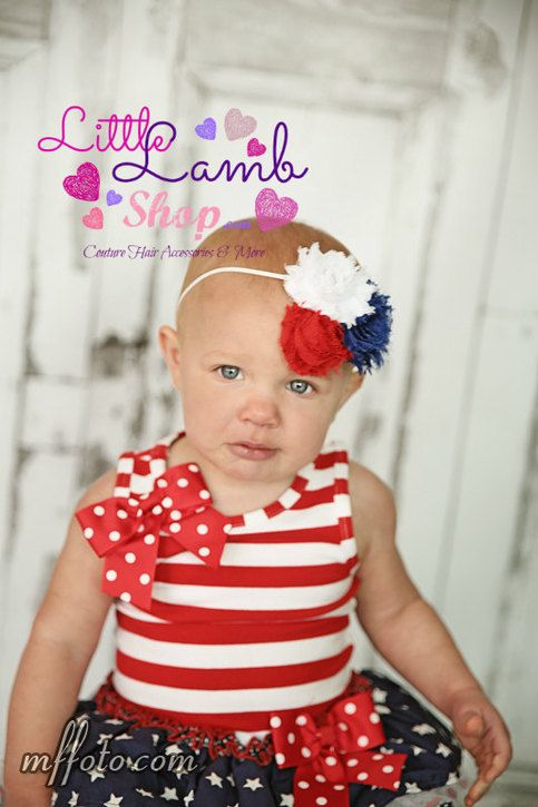 Fourth of july patriotic us baby headband newborn kids headband all ages kids headbandsphotography propsnewborn