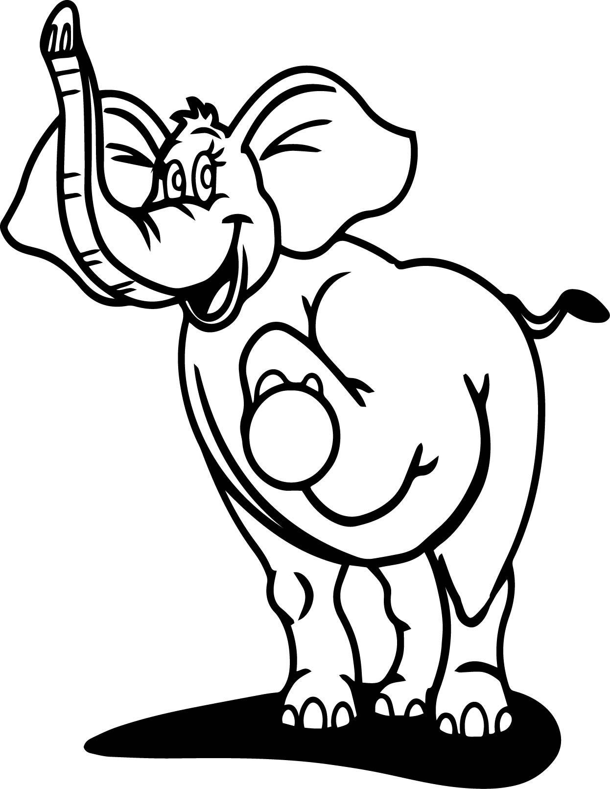 Nice perfect elephant coloring page wecoloringpage pinterest