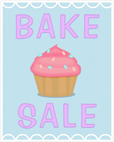 BakeSalePosterPrintable  Baking Ideas    Sale Poster