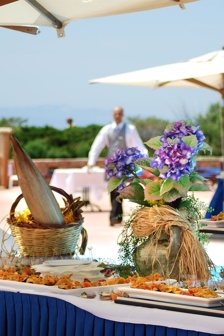 #Wedding #buffet #outdoors @ Hotel Relax Torreruja  - Isola Rossa (North Sardinia).