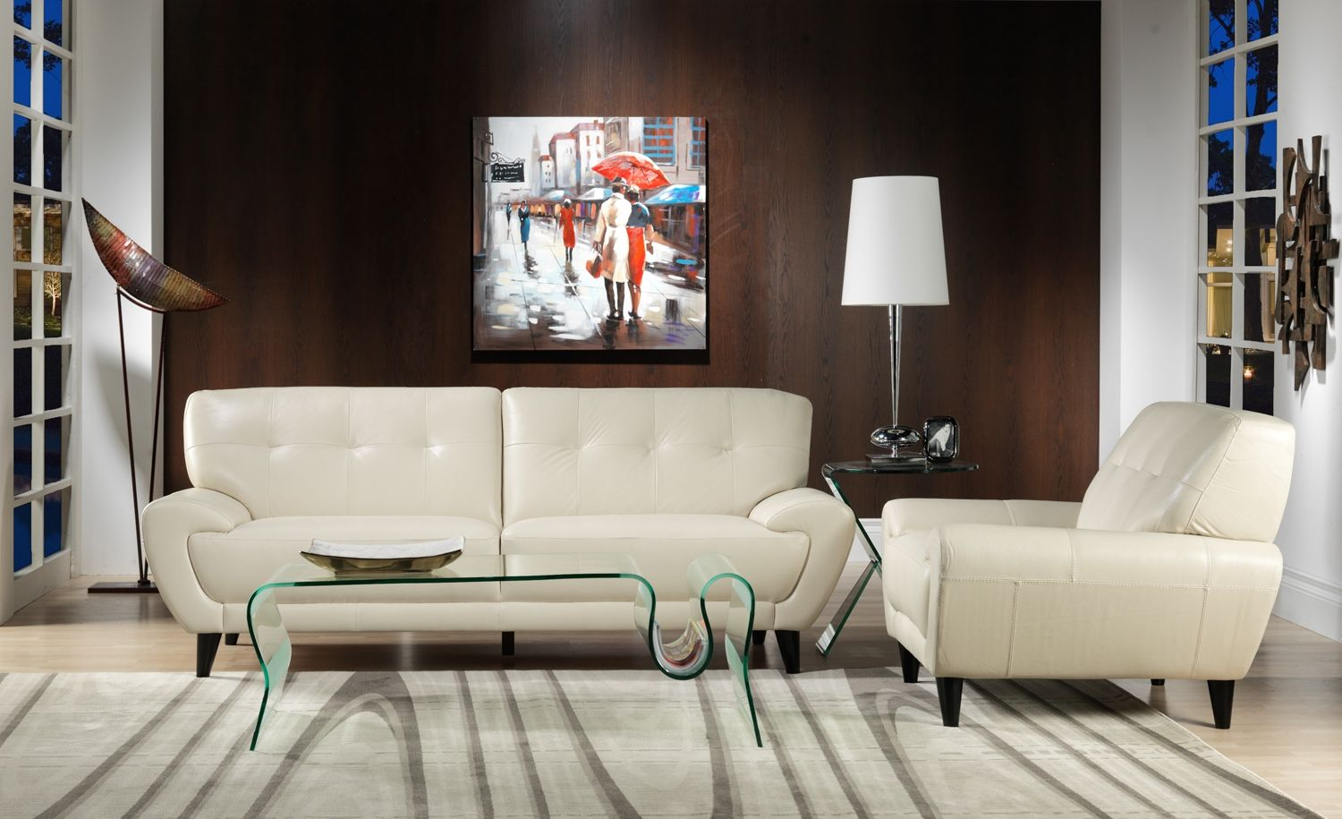 Living Room Furniture The Boulevard Collection Sofa