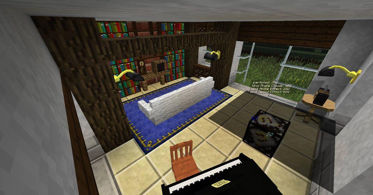 20 Living Room Ideas Designed In Minecraft Minecraft Interior Design Minecraft Interior Design Ideas Minecraft Interior Luxury rooms in minecraft