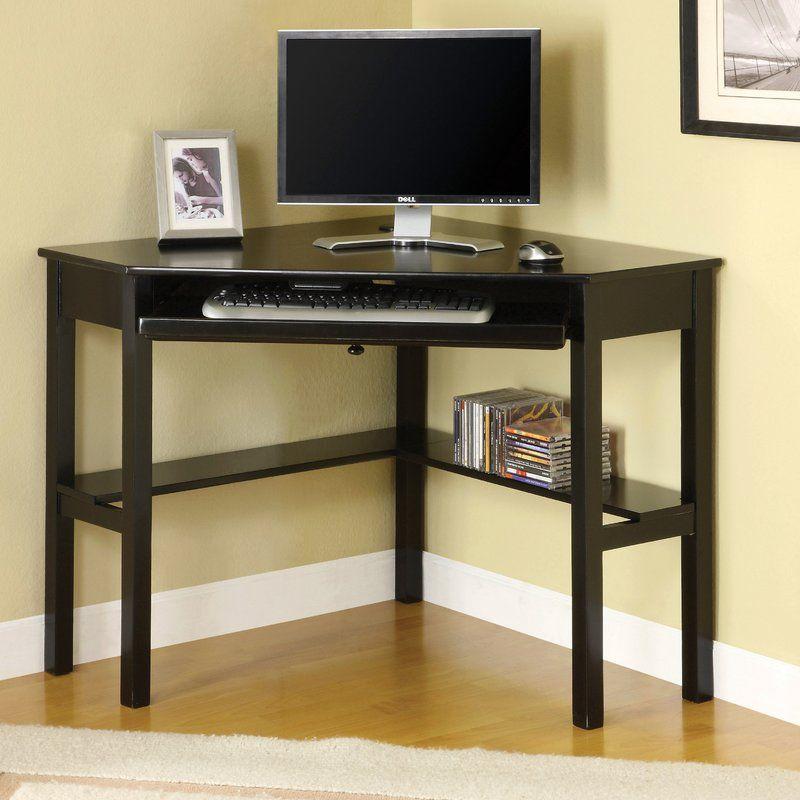 Blithe Computer Desk Black Corner Desk Computer Desks For Home