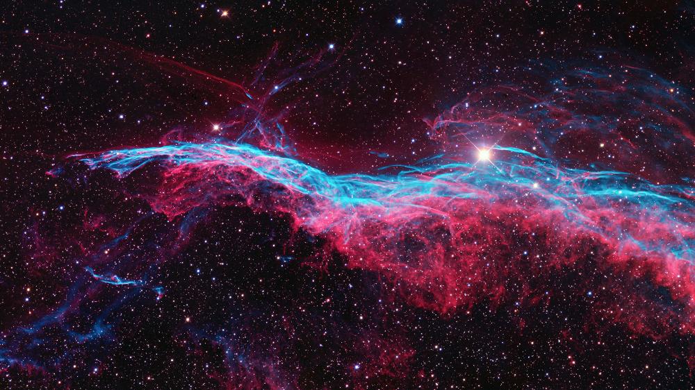 Witch S Broom Nebula Ngc 6960 Veil Nebula In The Constellation Cygnus Windows 10 Spotlight Images Nebula Wallpaper Nebula Galaxy Wallpaper